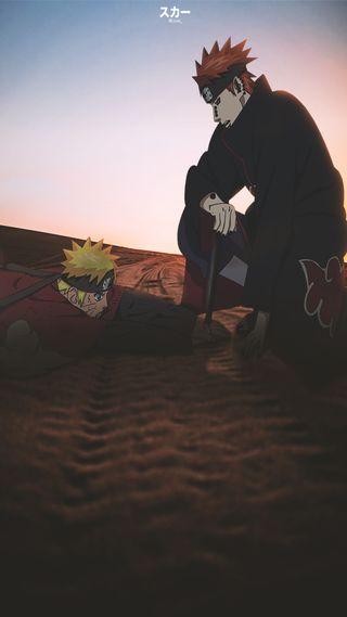 Обои на телефон фотошоп, узумаки, пустыня, природа, наруто, монтаж, боль, аниме, pain nagato, naruto x pain, naruto shippuden, anime edit