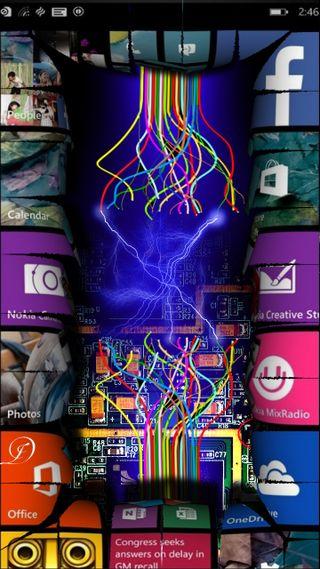 Обои на телефон электрические, флэш, телефон, сломанный, свет, wp, shattered, electrical, broken phone