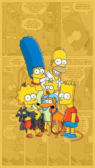 Обои на телефон шоу, лиза, симпсоны, мультфильмы, лиса, комедия, гомер, барт, анимационные, marge, maggie, cartoon show, 90е
