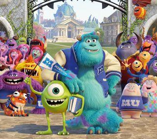 Обои на телефон анимация, развлечения, красочные, комедия, забавные, голливуд, monster inc
