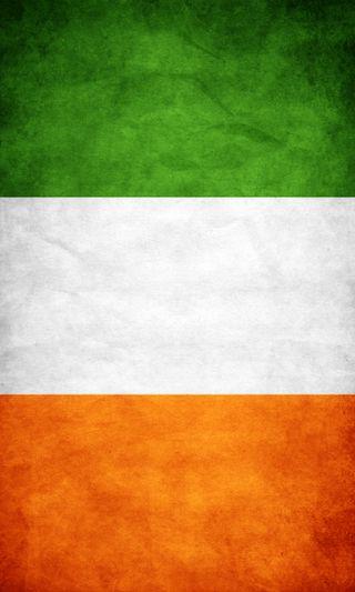 Обои на телефон ирландия, флаг