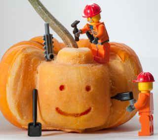 Обои на телефон ужасные, хэллоуин, ужасы, тыква, страшные, призрак, лил, spook, lil pumpkin carving, ghost