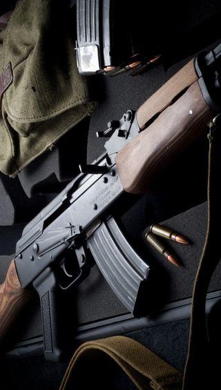 Обои на телефон оружие, военные, kalashnikov, ammo, ak-47