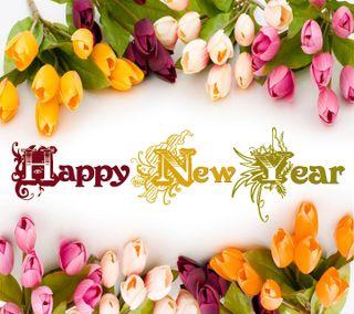 Обои на телефон тюльпаны, цветы, счастливые, приветствия, новый, крутые, 2013