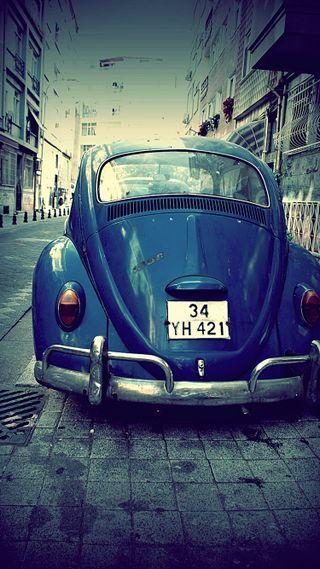 Обои на телефон фольксваген, синие, приятные, ок, машины, крутые, классные, жук, авто, volkswagen