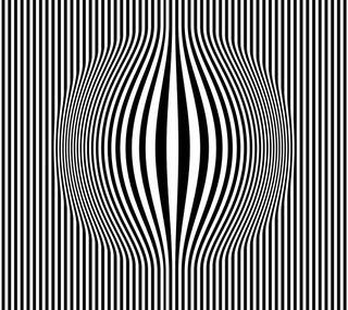Обои на телефон эффект, линии, черные, круги, арт, art