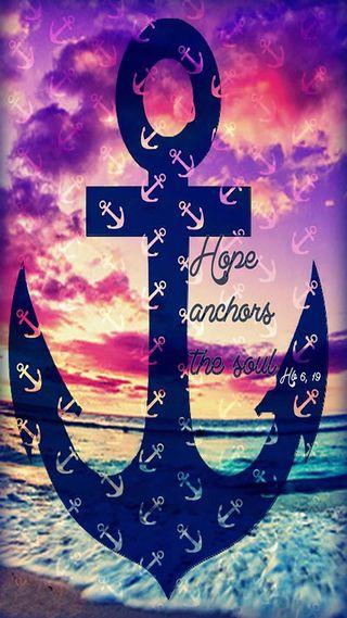 Обои на телефон якорь, душа, надежда, anchor the soul