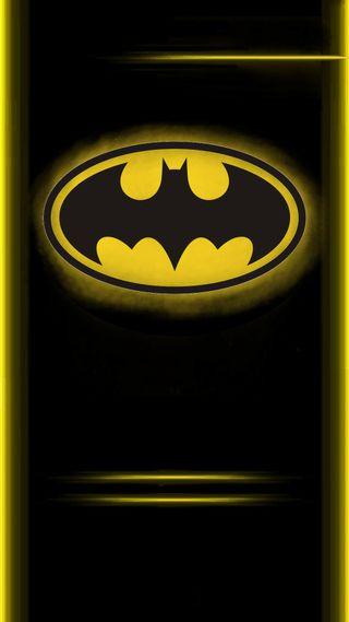 Обои на телефон летучая мышь, грани, бэтмен