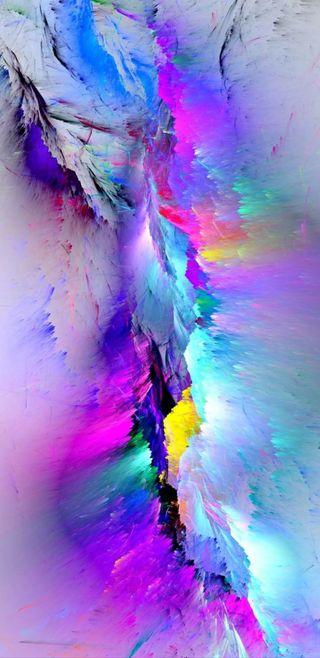 Обои на телефон шаблон, цветные, радуга, красочные, дизайн