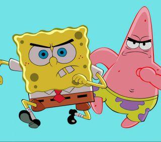Обои на телефон патрик, губка боб, мультики, боб, spongebob-patrick