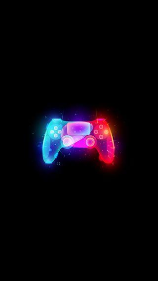 Обои на телефон цветные, стим, радуга, логотипы, игра, геймер, playstation, ps, joyistik, hd