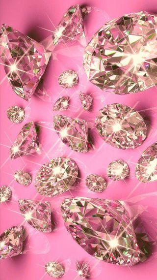 Обои на телефон бриллиант, симпатичные, сердце, сверкающие, розовые, бриллианты, блестящие, chic