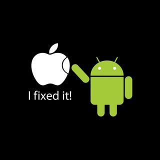 Обои на телефон оно, эпл, андроид, i fixed it, fring, apple, android