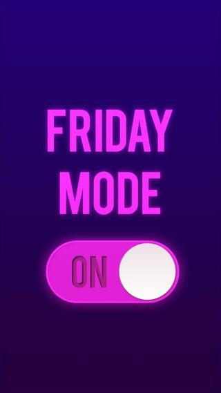 Обои на телефон пятница, цитата, фан, простые, поговорка, крутые, дизайн, friday mode on