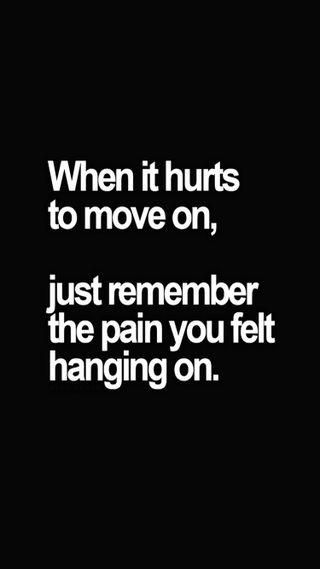 Обои на телефон чувствовать, помни, повредить, боль, move on, move, hang