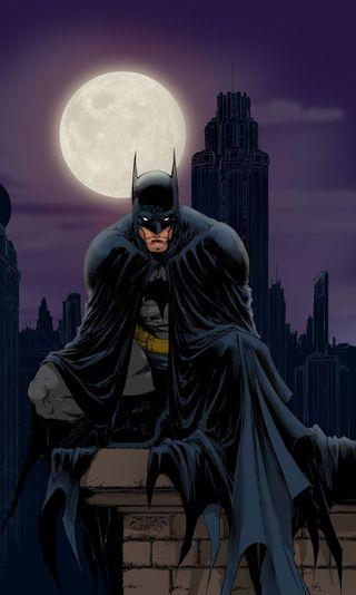 Обои на телефон темные, рыцарь, комиксы, бэтмен
