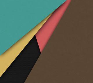 Обои на телефон darkdroid, lollipop, nexus, дизайн, розовые, зеленые, материал, линии
