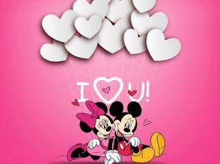 Обои на телефон маус, ты, сердце, микки, любовь, дисней, день, love, i love you, disney, 640x480px