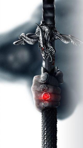 Обои на телефон будущее, меч, война, античный, extra