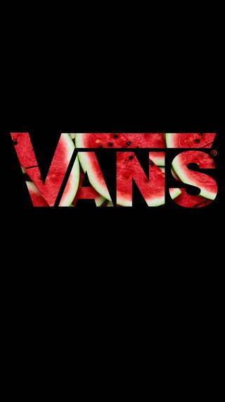 Обои на телефон логотипы, арбуз, vans