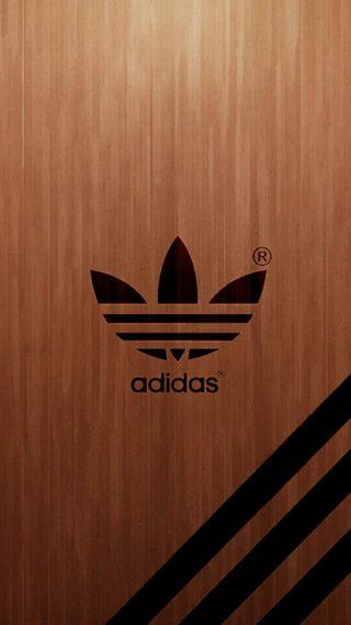 Обои на телефон новый, логотипы, дерево, бренды, адидас, fondo, adidas