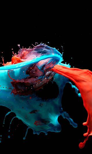 Обои на телефон брызги, черные, цифровое, цветные, темные, рисунки, крутые, красочные, абстрактные, live paint, 3д, 3d