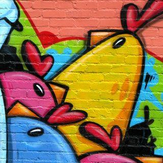 Обои на телефон граффити, xa, ft