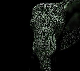 Обои на телефон слон, арт, seth, rgerg, elephant art