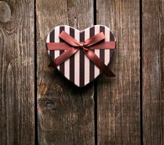 Обои на телефон лук, сердце, романтика, любовь, дерево, love, chocolates