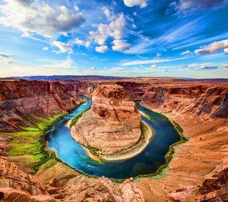 Обои на телефон великий, сша, река, природа, каньон, аризона, usa, the grand canyon, colorado