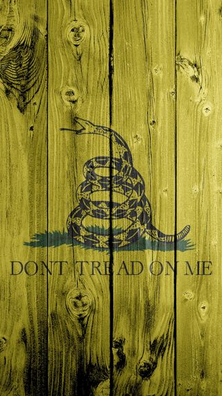 Обои на телефон змея, я, флаг, не, dont tread on me