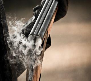 Обои на телефон пули, оружие, shotgun, double barrel shotgu, double barrel