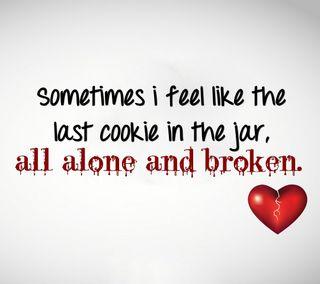 Обои на телефон сломанный, сердце, одиночество, одинокий, любовь, грустные, zedgevday, love, cry, all alone