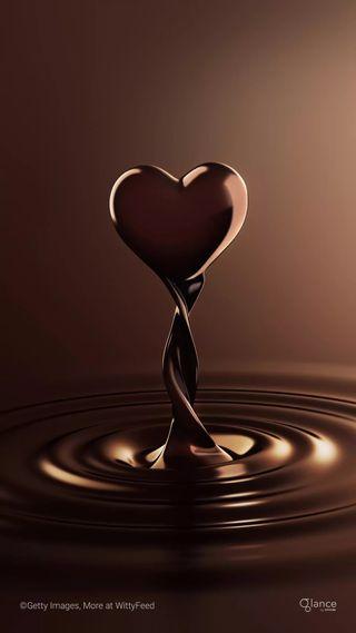 Обои на телефон dairy milk, hd, love, любовь, сердце, свеча, шоколад, молоко