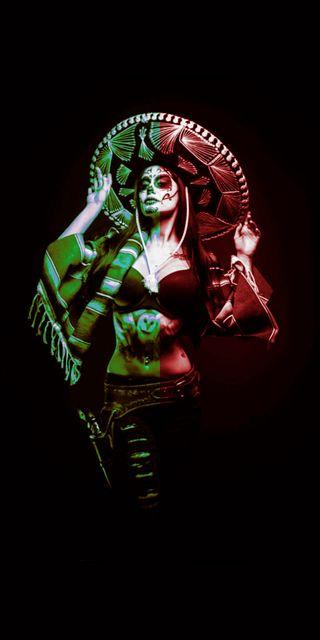 Обои на телефон мексика, девушки, mexicana, edited