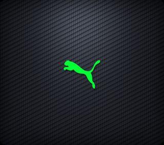 Обои на телефон пума, черные, приятные, логотипы, зеленые, puma