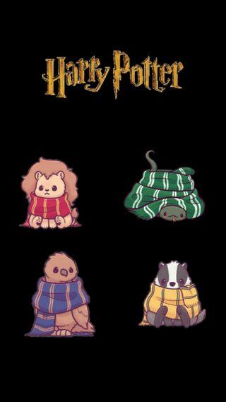 Обои на телефон поттер, милые, животные, дома, гарри поттер, гарри, cute hp animals