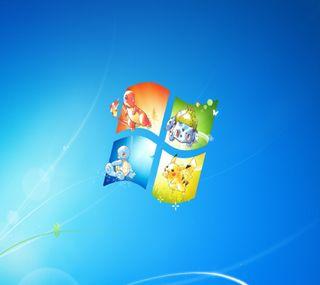 Обои на телефон покемоны, нинтендо, windows pokemon, windows, pkmn, nintendo