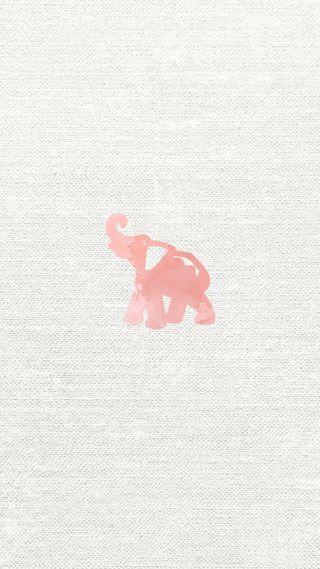 Обои на телефон слон, розовые, прекрасные, кораллы, девчачие, айфон, iphone