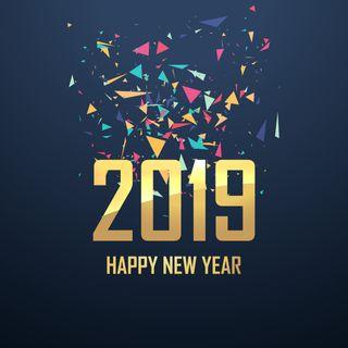 Обои на телефон празднование, новый, год, 2019
