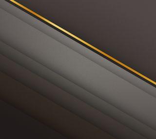Обои на телефон стильные, слои, полосы, серые, линии, коричневые, золотые