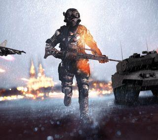 Обои на телефон солдат, игры, дождь, видео, армия, battlefield 4, battlefield