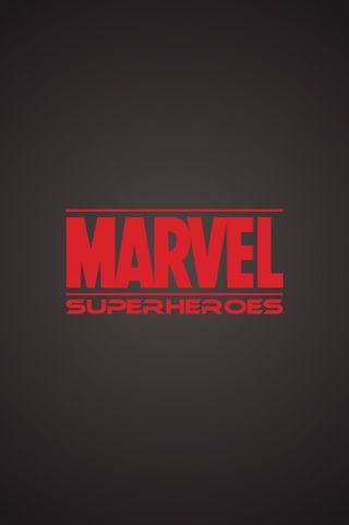 Обои на телефон герои, черные, простые, марвел, красые, marvel heroes, marvel