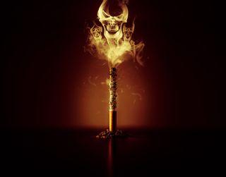Обои на телефон дым, череп, хакер, смерть, сигареты, призрак, огонь, smokers, negative, ghost