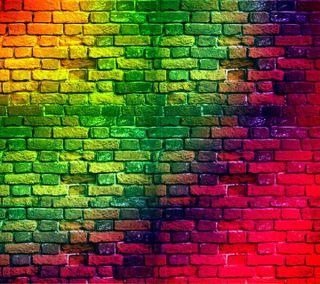 Обои на телефон стена, приятные, красочные, wallpapr