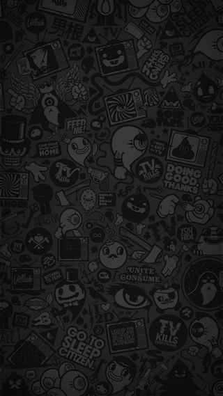 Обои на телефон черные, темные, тв, странные, серые, панк, мультфильмы, арт, jdm, supreme, dope, art