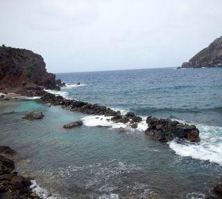 Обои на телефон остров, океан, tide pool, saba