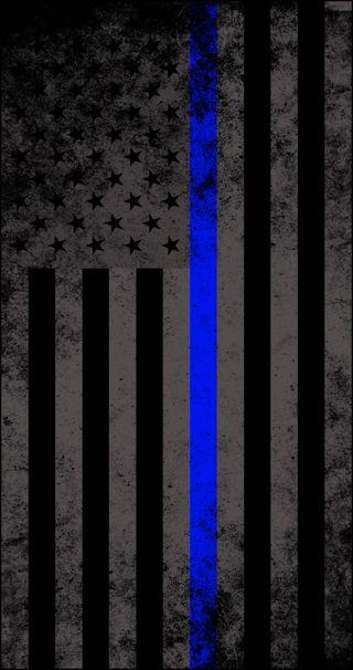 Обои на телефон полиция, флаг, support