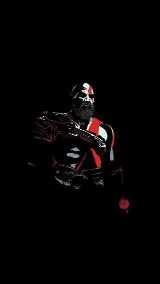 Обои на телефон черные, темные, игровые, игра, война, бог, god of war