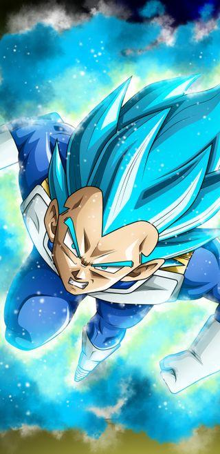Обои на телефон супер, синие, мяч, дракон, герой, вегета, аниме, vegeta ssj blue, ssj blue, hd, dragon ball super